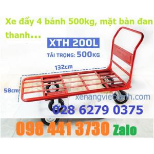 Xe đẩy 4 bánh 500kg XTH200L phong thạnh