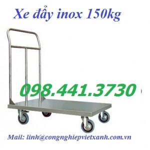 Xe đẩy inox 150kg