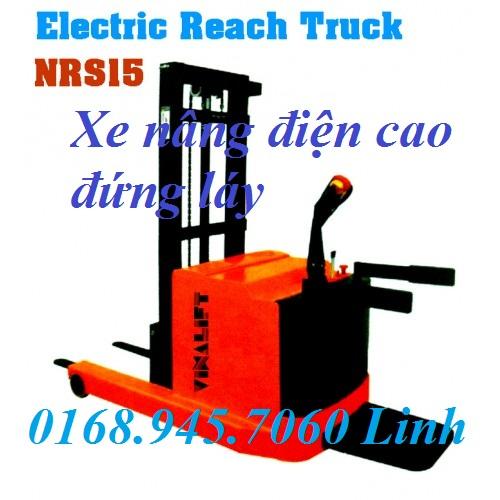 Xe nâng điện điện đứng láy cao NRS1535