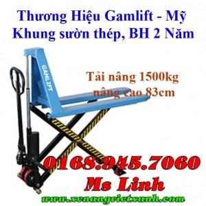 Xe nâng tay cắt kéo 1500kg HNC15M / SLT15M