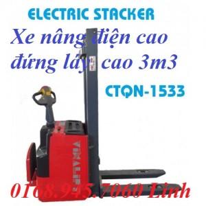 Xe nâng điện cao đứng lái CTQN-1533