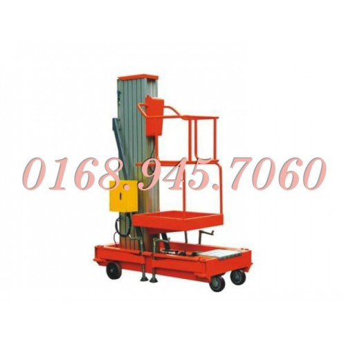 Thang nâng điện cao 8 mét - 125kg GTWY-S