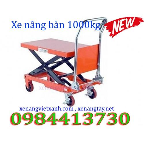 Xe nâng bàn 1000kg XNB1000