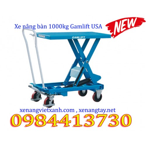 Xe nâng bàn 1000kg Gamlift USA
