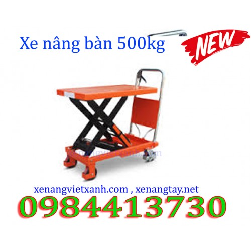 Xe nâng mặt bàn 500kg TT500