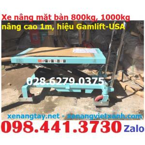 Xe nâng mặt bàn 800kg-1000kg Gamlift-USA