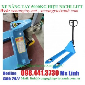 Xe nâng tay 5000kg nhật bản NICHI-LIFT