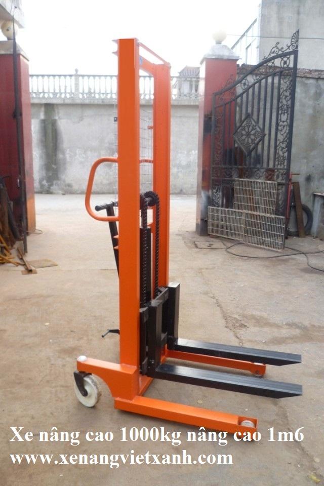 www.123nhanh.com: Xe nâng cao 2000kg nâng cao 1m6 loại tốt